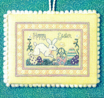 Teenie Hoppy Easter - Cross Stitch Pattern