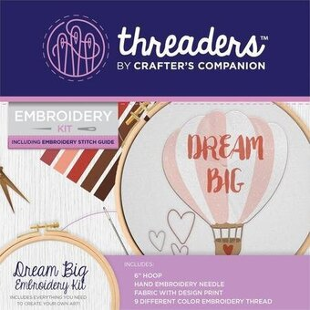 Dream Big - Crafter's Companion Embroidery Kit