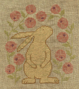 Curious Bunny - Cross Stitch Pattern