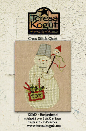 Buckethead - Christmas Cross Stitch Pattern