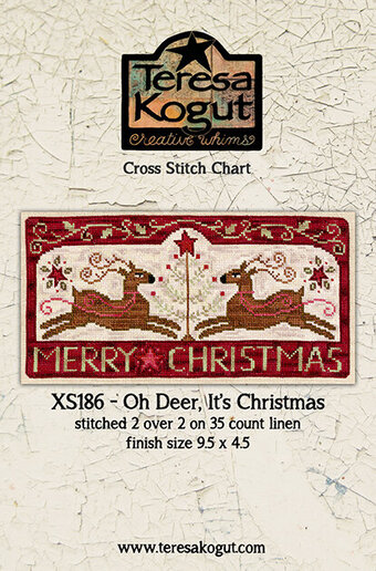 Oh Deer, it's Christmas! - Cross Stitch Pattern