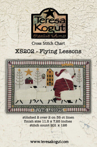 Flying Lesons - Christmas Cross Stitch Pattern