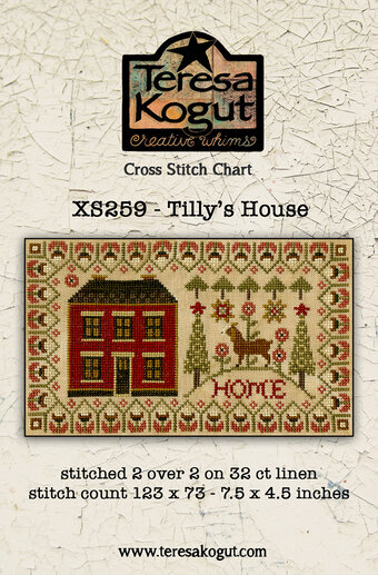 Tilly's House - Cross Stitch Pattern