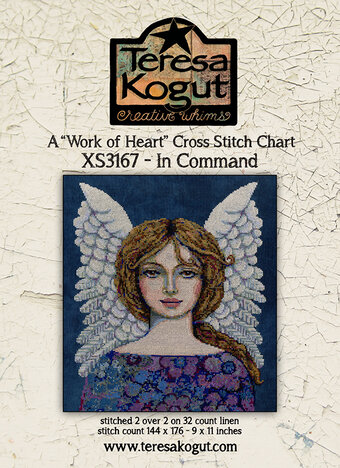 In Command - Work of Heart - Cross Stitch Pattern