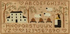 Honey and Wool Farm - Cross Stitch Pattern