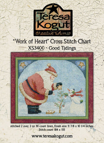 Good Tidings - Cross Stitch Pattern