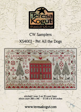 Pet All The Dogs/Hug All The Cats - Cross Stitch Pattern