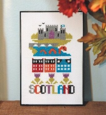 Scotland - Cross Stitch Pattern