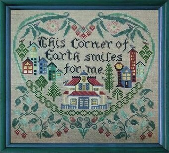 This Corner of Earth - Cross Stitch Pattern