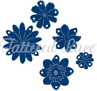 Tattered Lace Die - Interlocking Flowers