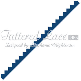 Tattered Lace Dies - Zig Zag Border