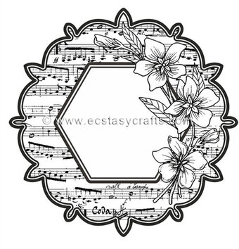 Sue Wilson Garden Song Stamp