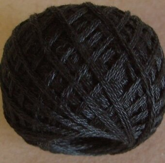 Valdani 3-Ply Thread - Black Dark