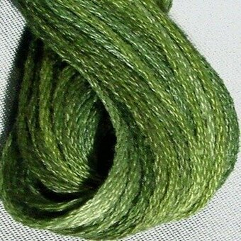 Valdani 6-Ply Thread - Withered Green