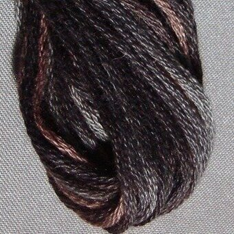 Valdani 6-Ply Thread - Aged Black
