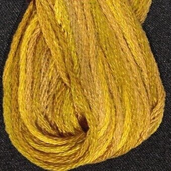 Valdani 6-Ply Thread - Tarnished Gold