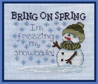 Bring on Spring!! - Cross Stitch Pattern