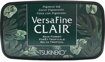 VersaFine Clair Ink Pad - Rain Forest