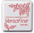 VersaFine Small Ink Pads - Satin Red