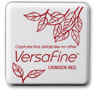 VersaFine Small Ink Pads - Crimson Red