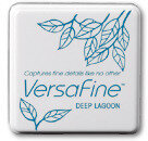 VersaFine Small Ink Pads - Deep Lagoon