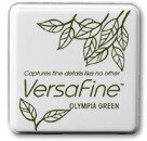 VersaFine Small Ink Pads - Olympia Green
