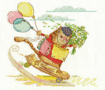 Rushing to You - Cross Stitch Kit