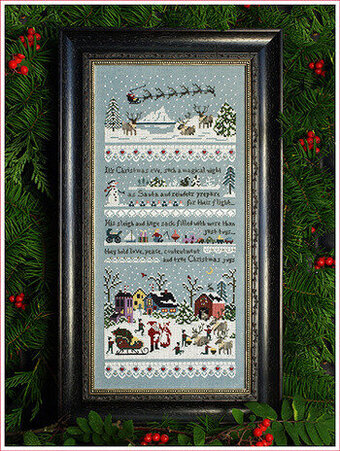 Santa's Village Sampler - Cross Stitch Pattern