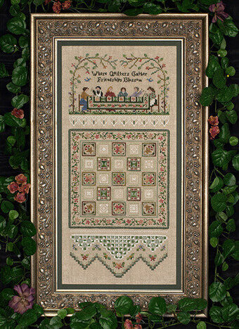 Quilting Bee Sampler - Cross Stitch Pattern