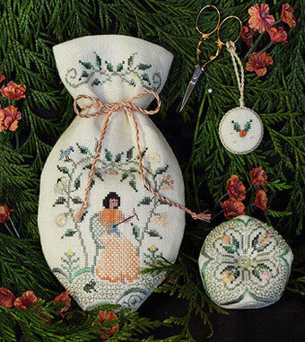 Milady's Reticule - Cross Stitch Pattern