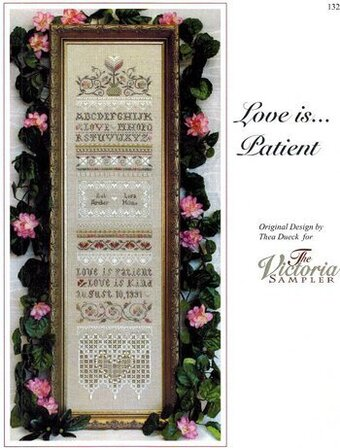 Love is Patient - Cross Stitch Pattern