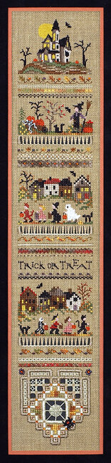 Trick Or Treat Sampler - Cross Stitch Pattern