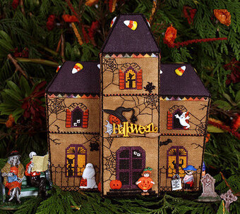 Victoria Sampler Gingerbread Haunted House - Cross Sch Pattern ... on ghostly manor haunted house, cartoon haunted house, haunted house blank template, the scarehouse haunted house, inflatable haunted house, haunted turkey house, haunted winter house, haunted cookie house, raymond hill mortuary haunted house, animated haunted house, haunted victorian houses, haunted houses in texas, fun spot orlando haunted house, the scariest most haunted house, simple spooky house, haunted gingerbread tree, haunted house moon, haunted houses in alabama, haunted irish houses, haunted family house,