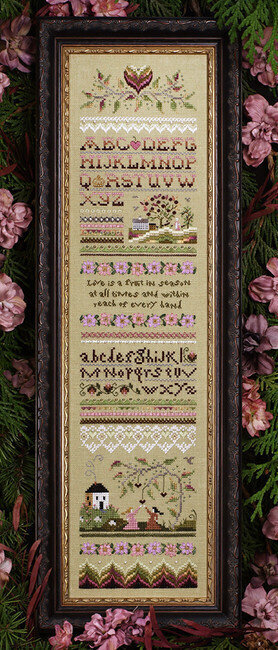 Victorian Band Sampler - Cross Stitch Pattern