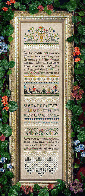 Child Of My Child Sampler - Cross Stitch Pattern
