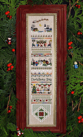 Christmas Day - Cross Stitch Pattern