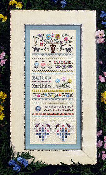 Button Sampler - Cross Stitch Pattern