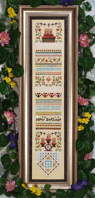 Celebrate Sampler - Cross Stitch Pattern