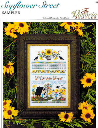 Sunflower Street - Cross Stitch Pattern