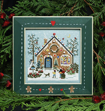 Gingerbread Hollow - Cross Stitch Pattern