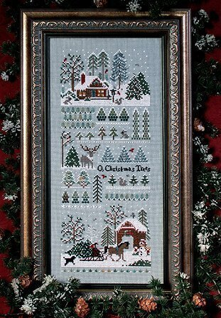 Jingle Bells Xmas Tree Farm - Cross Stitch Pattern