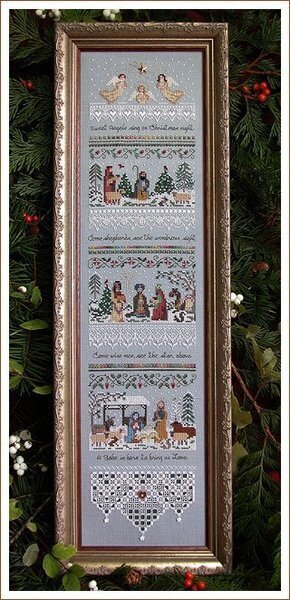 Heirloom Nativity Sampler - Cross Stitch Pattern