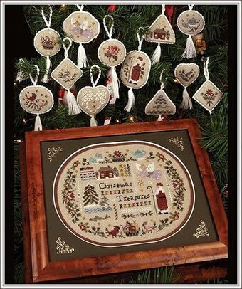Christmas Treasure Collection - Cross Stitch Pattern