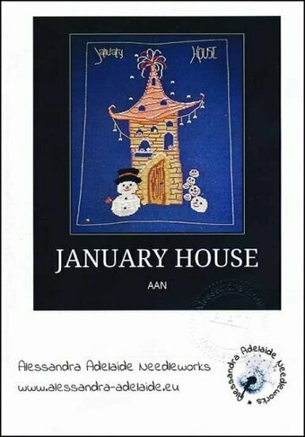 January House - Cross Stitch Pattern