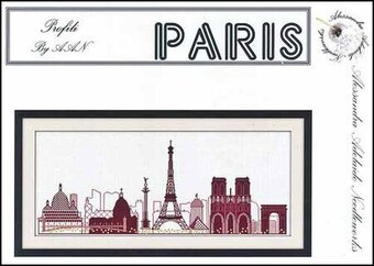 Paris - Cross Stitch Pattern