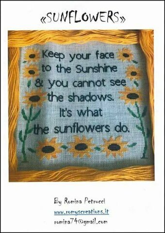 Sunflowers - Cross Stitch Pattern