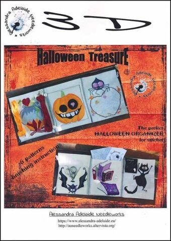 Halloween Treasure - Cross Stitch Pattern