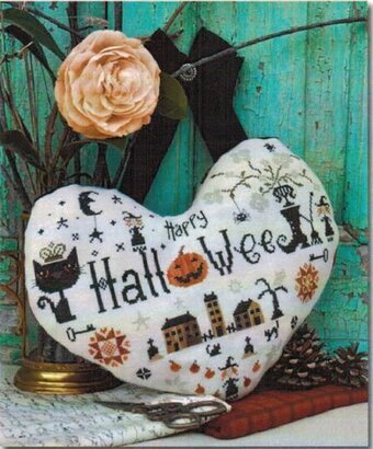 Halloween Heart - Cross Stitch Pattern