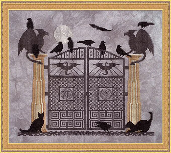 Wizard's Gate - Cross Stitch Pattern