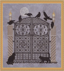 Astronomer's Gate - Cross Stitch Pattern
